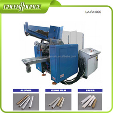 Fully automatic plastic film making machine, rewinding machine, cutting machine