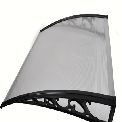 Polycarbonate Outdoor Metal Shelter Canopy