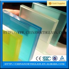 Clear frosted tint tempered laminated glass m2 price 6.38mm 7mm 8mm 12mm 15mm think for