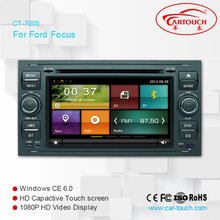Car DVD wholesale for Ford Focus with GPS/BT/RDS/DVD/iPOD/External Sanyo 6 Cdc Box/Rearview