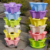 PP material hydroponic vertical plant pots/tower for flowers