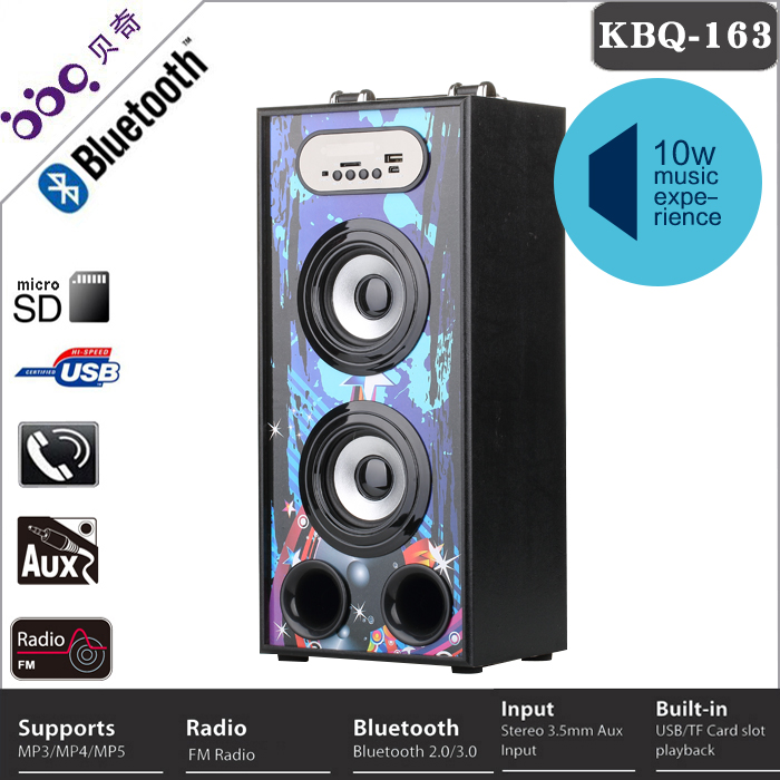 China wholesale wireless mic studio monitor speaker
