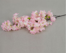 Artificial Cherry Blossom Branches Wholesale Wedding Decorative Flowers