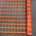 Plastic Orange Construction Safety Barricade Net