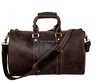 Genuine Leather Travel Tote Luggage Duffel Handbag vintage men leather sport bag