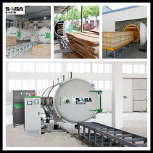 Large Firewood Dry Kiln With High Frequency/Microwave Principle From SAGA,High Frequency Woodworking Machinery
