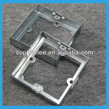 35mm Deep Bottom Out Electrical GI Switch Socket Box