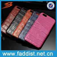 High quality phone cover genuine leather phone case for iphone 6