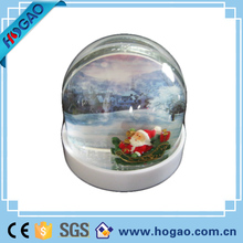 Unique Christmas Photo Plastic Snow Globes with your Pictures