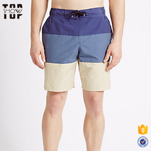 China wholesale swimwear with color block european swimwear men beach shorts