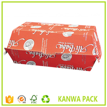 disposable paper hamburger boxes,hot dog food box
