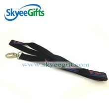 Custom design safety hook lanyards plastic string lanyards