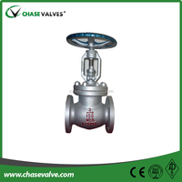 China Industrial Usage Oil gas cast Steel Rising Stem globe valves manufacturer and supplier
