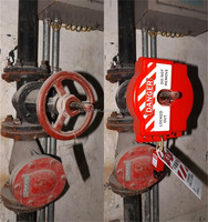 tamper steel insulating resin flameproof Insulation electrical safety lockout hasps