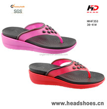 Sexy hot Ladies high heel slippers cheap wholesale eva flip flops