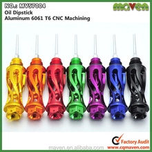 China factory Sell Motorbike CNC Oil Dipstick For Yamaha BWS Scooter Parts MV57004