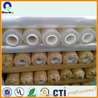 wholesale pvc material clear hard plastic sheet