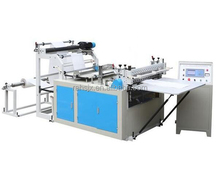 HQ-1000A paper or plastic sheet cross cutting and slitter machine