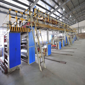 High Speed 2 3 5 7 Layer Corrugated Cardboard Production Line