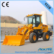 AOLITE 922B small tractor front end loader with pallet frok and snow plow