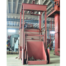 descaling steel Mechanical Container Sand Blasting/Peening Room/Booth/Chamber/Cabinet/Equipment