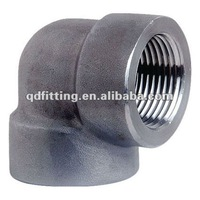 High Pressure Steam Threaded Fittings Elbow 3000lbs