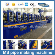 ZG32 square pipe making machine for carbon steel tube mill professional manufacturer ERW straight seam square tube forming line