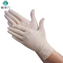powder &powder free high quality disposable latex gloves in medical