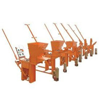 QMR2-40 interlocking clay soil block making machine