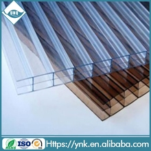pc sheet china sheet manufacturers triple wall hollow polycarbonate sheet 10-year warranty 4mm