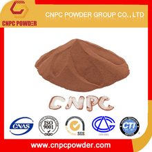 copper powder synthesized with the PVA content of 4:1