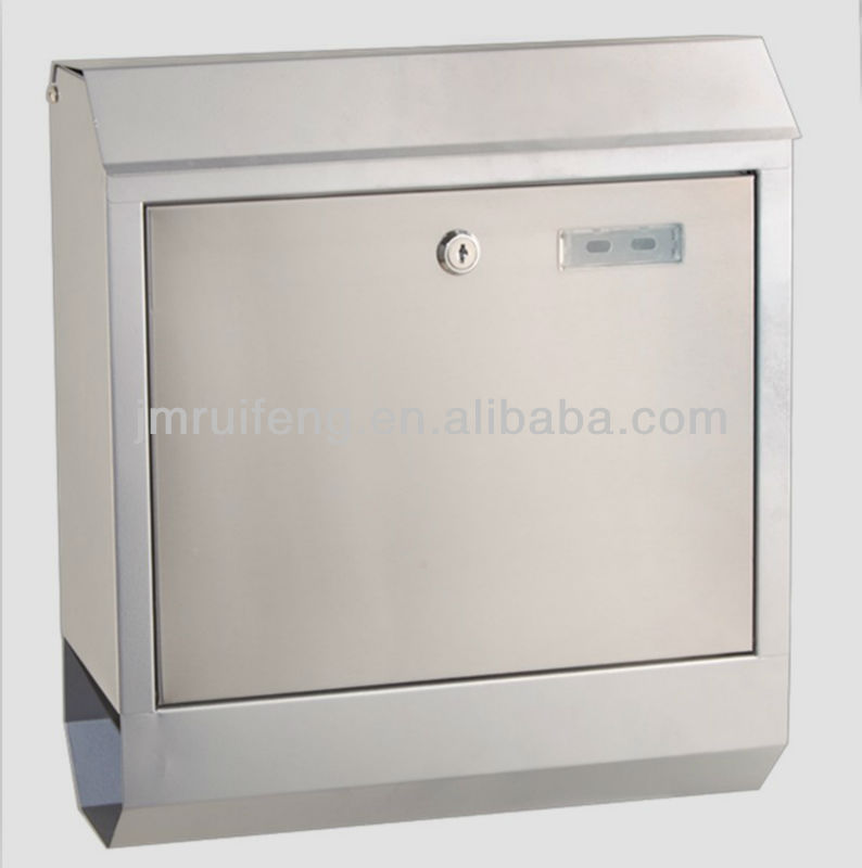 high quality stainless steel door mail box LW-LB33