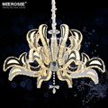 Crystal Chandelier LED Light Fixture Flower Crystal Lamp for Dining room Lustres Hanging Luminaire Modern Lighting MD81271