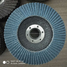 150mm Grit 60 paint removal common metal grind flap disc