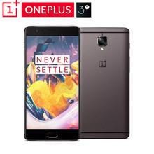 Newest Oneplus 3T A3010 Mobile Phone Snapdragon 821 Quad Core 5.5 inch 6GB+64GB Android 7.0 LTE 16MP NFC Oxygen OS 3.5.3