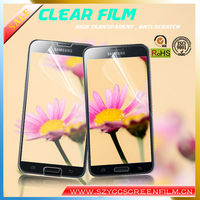China Supplier High Clear Film For Samsung Galaxy S5 I9600 Clear Screen Protector Guard