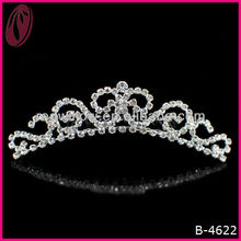 Fashion Wholesale Promotional Kids Rhinestone Tiaras And Crowns