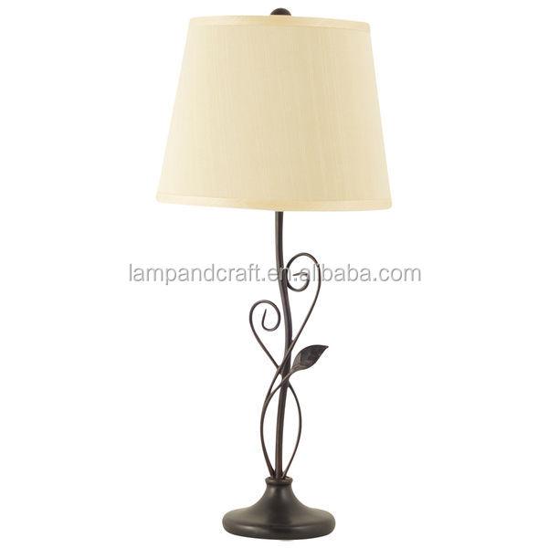 Vintage ul ce antique bronze flower shape metal hotel - Flower shaped lamp shades ...