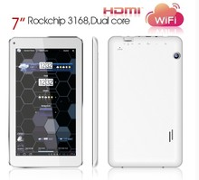 Hot Selling 7inch tablet PC Rockchip 3168 MID Cortex A9 Dual core