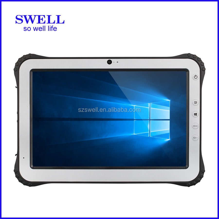 android tablet pc with rs232/rs485 fingerprint reader tablet Rugged from SWELL I12, NFC OTG USB Port RS232 optional