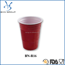 Beer Pong Cup Tray Custom Disposable Red Solo Party Cups
