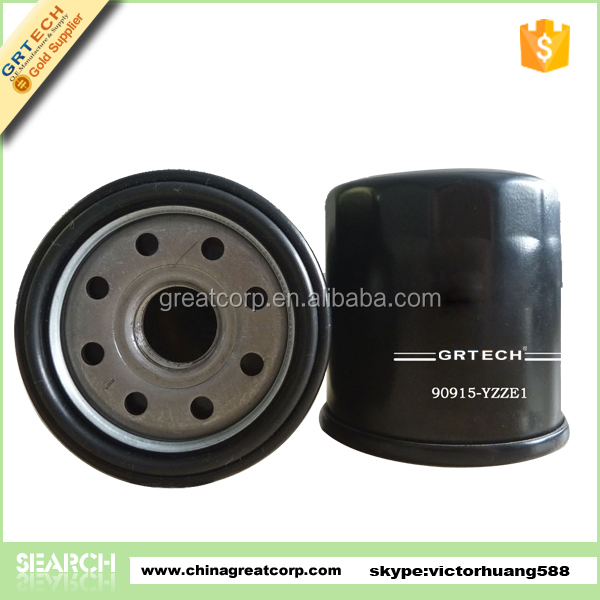 High quality car oil filter for toyota 90915-yzze1