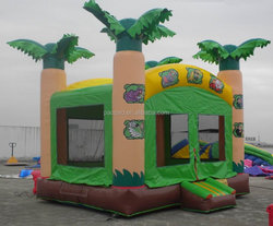 Children Inflatable Toy Bouncers, Jungle Party Inflatables