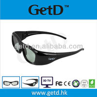 3d active glasses CR2032 compatible with Samsung/Sony/Sharp/Toshiba/Philips GH310IF1