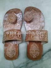 women traditional chappals