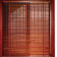 Venetian blinds parts/wooden window blinds