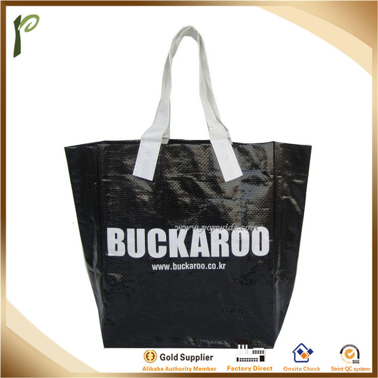 Popwide HOT sale laminated durable PP Non Woven Shopping Bag