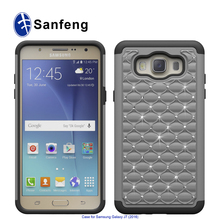 Supply all kinds of decorative diamond mobile case cover for Samsung J7/J710(2016)