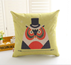 2015 China factory direct supply alibaba selling well fashion super soft 100% cotton Latest Design Cushion Cover