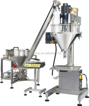 Auger Type Toner Powder / Carbon Powder Filling Machine